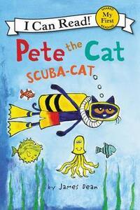 Pete the Cat: Scuba-Cat - James Dean - cover