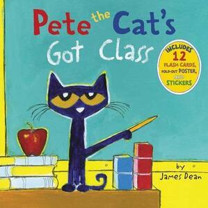 Pete The Cat's Got Class - James Dean - cover