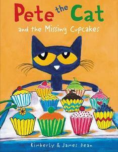 Pete The Cat And The Missing Cupcakes - James Dean - cover