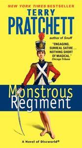 Monstrous Regiment - Terry Pratchett - cover
