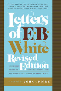 Foto Cover di Letters of E. B. White, Ebook inglese di E. B. White, edito da HarperCollins