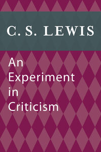 Ebook in inglese Experiment in Criticism Lewis, C. S.