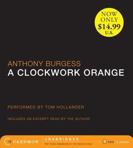 A Clockwork Orange - Anthony Burgess - cover