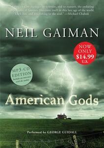 American Gods Low Price MP3 CD - Neil Gaiman - cover