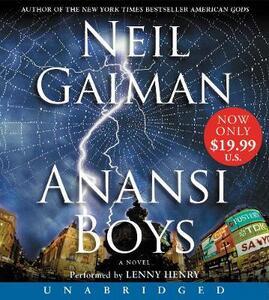 Anansi Boys Low Price CD - Neil Gaiman - cover