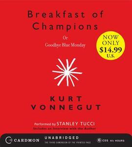 Breakfast of Champions or Goodbye Blue Monday - Kurt Vonnegut - cover