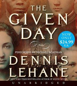The Given Day - Dennis Lehane - cover