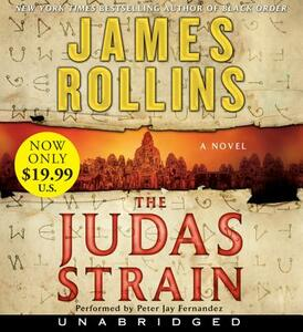The Judas Strain Low Price CD: A SIGMA Force Novel - James Rollins - cover