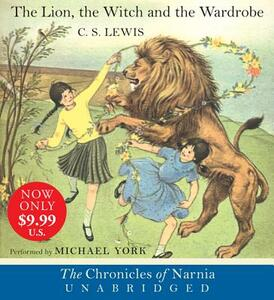 The Lion, the Witch and the Wardrobe - C S Lewis - cover
