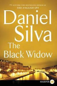 The Black Widow [Large Print] - Daniel Silva - cover