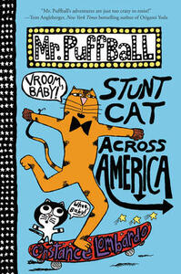 Mr. Puffball: Stunt Cat Across America - Constance Lombardo - cover