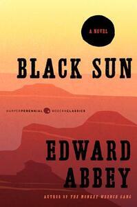 Black Sun - Edward Abbey - cover