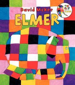 Elmer Board Book - David McKee - cover