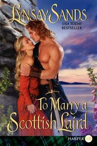 To Marry A Scottish Laird [Large Print] - Lynsay Sands - cover