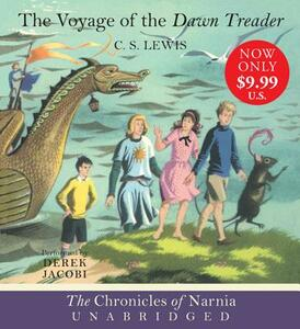 The Voyage of the Dawn Treader - C S Lewis - cover