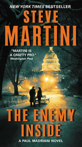 The Enemy Inside: A Paul Madriani Novel - Steve Martini - cover