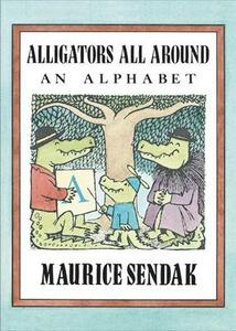 Alligators All Around Board Book: An Alphabet - Maurice Sendak - cover