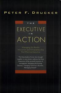 Foto Cover di The Executive in Action, Ebook inglese di Peter F. Drucker, edito da HarperCollins