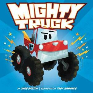 Mighty Truck - Chris Barton - cover