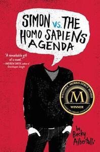 Simon vs. the Homo Sapiens Agenda - Becky Albertalli - cover