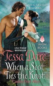 When a Scot Ties the Knot: Castles Ever After - Tessa Dare - cover