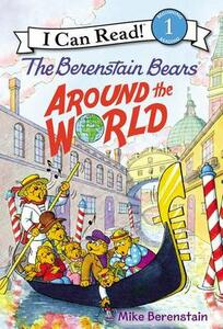 The Berenstain Bears Around the World - Mike Berenstain - cover
