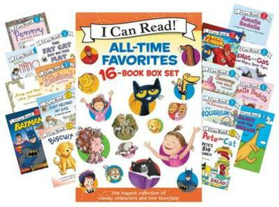 I Can Read All-Time Favorites 16-Book Box Set - Various,Jan Berenstain,Alyssa Satin Capucilli - cover