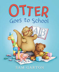 Otter Goes to School - Sam Garton - cover