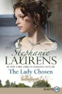 The Lady Chosen [Large Print] - Stephanie Laurens - cover