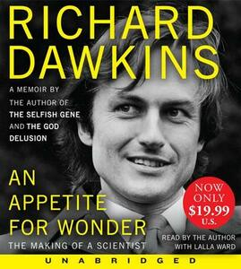 An Appetite for Wonder: The Making of a Scientist - Richard Dawkins - cover