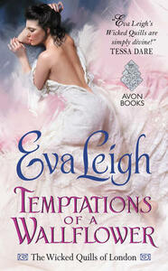 Temptations of a Wallflower: The Wicked Quills of London - Eva Leigh - cover