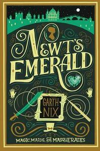 Newt's Emerald - Garth Nix - cover