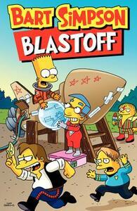 Bart Simpson Blastoff - Matt Groening - cover