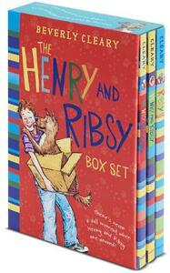 The Henry and Ribsy Box Set: Henry Huggins, Henry and Ribsy, Ribsy - Beverly Cleary - cover