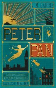 Peter Pan (Illustrated with Interactive Elements) - J. M. Barrie - cover