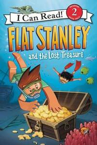 Flat Stanley and the Lost Treasure - Jeff Brown - cover
