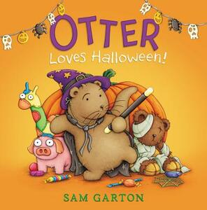 Otter Loves Halloween! - Sam Garton - cover