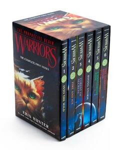 Warriors Box Set: Volumes 1 to 6 - Erin Hunter - cover