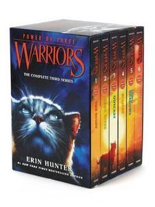 Warriors: Power of Three Box Set: Volumes 1 to 6 - Erin Hunter - cover