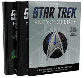 The Star Trek Encyclopedia, Revised and Expanded Edition: A Reference Guide to the Future - Michael Okuda,Denise Okuda - cover