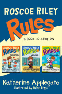 Ebook in inglese Roscoe Riley Rules 3-Book Collection Applegate, Katherine