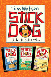 Ebook in inglese Stick Dog 3-Book Collection Watson, Tom