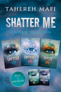 Ebook in inglese Shatter Me Complete Collection Mafi, Tahereh