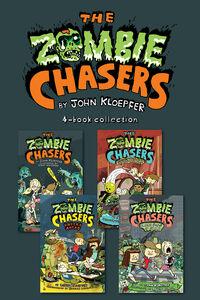 Foto Cover di Zombie Chasers 4-Book Collection, Ebook inglese di John Kloepfer, edito da HarperCollins