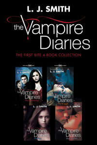 Ebook in inglese Vampire Diaries: The First Bite 4-Book Collection Smith, L. J.