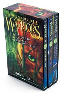 Warriors Box Set: Volumes 1 to 3 - Erin Hunter - cover