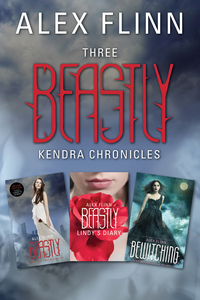 Ebook in inglese Three Beastly Kendra Chronicles Flinn, Alex
