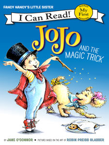 Ebook in inglese JoJo and the Magic Trick O'Connor, Jane