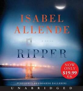 Ripper [Unabridged Low Price CD] - Isabel Allende - cover