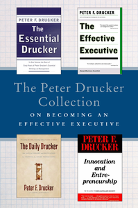 Ebook in inglese Peter Drucker Collection on Becoming An Effective Executive Peter F. Drucker